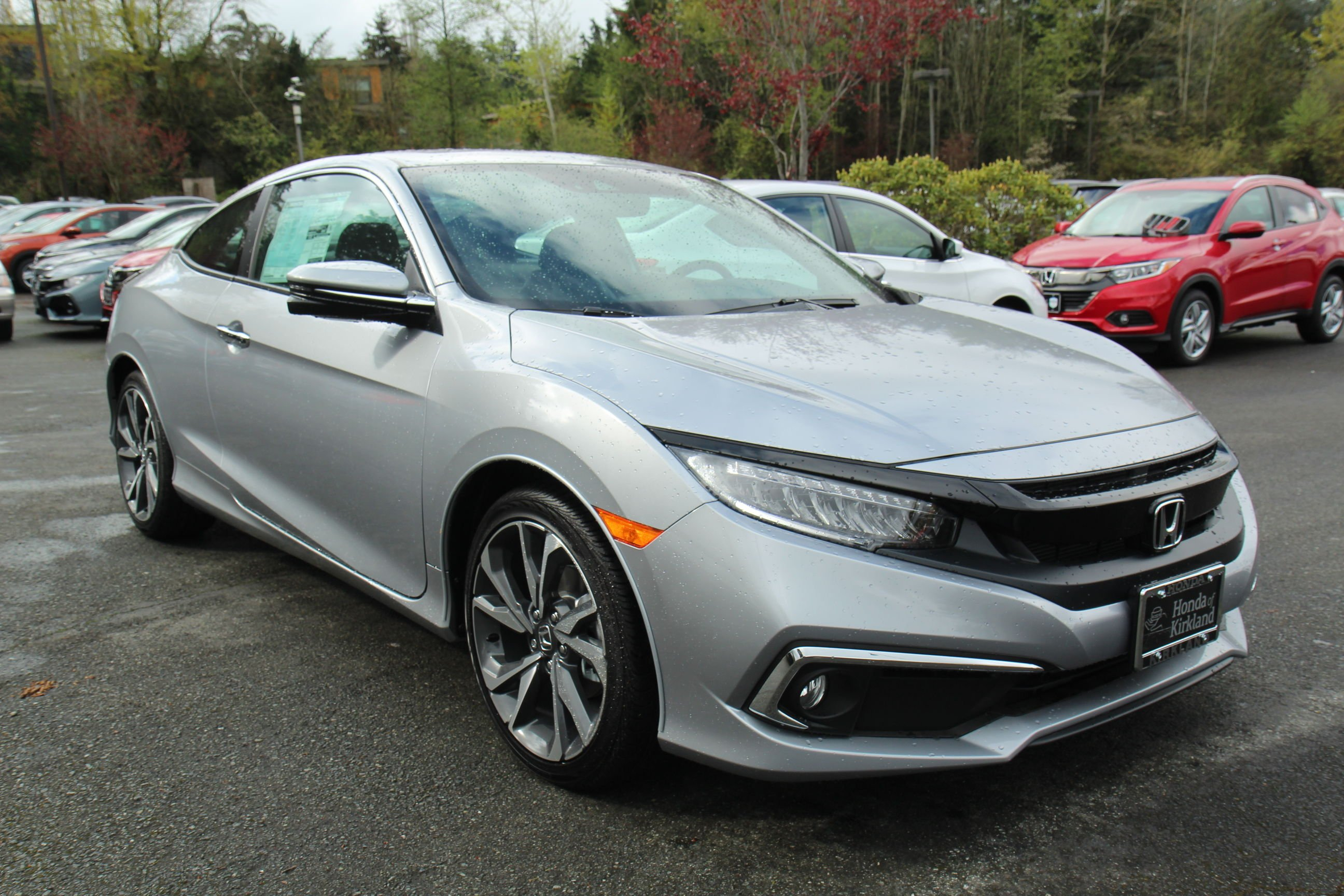 New 2019 Honda Civic Coupe Touring 2dr Car in Kirkland ...