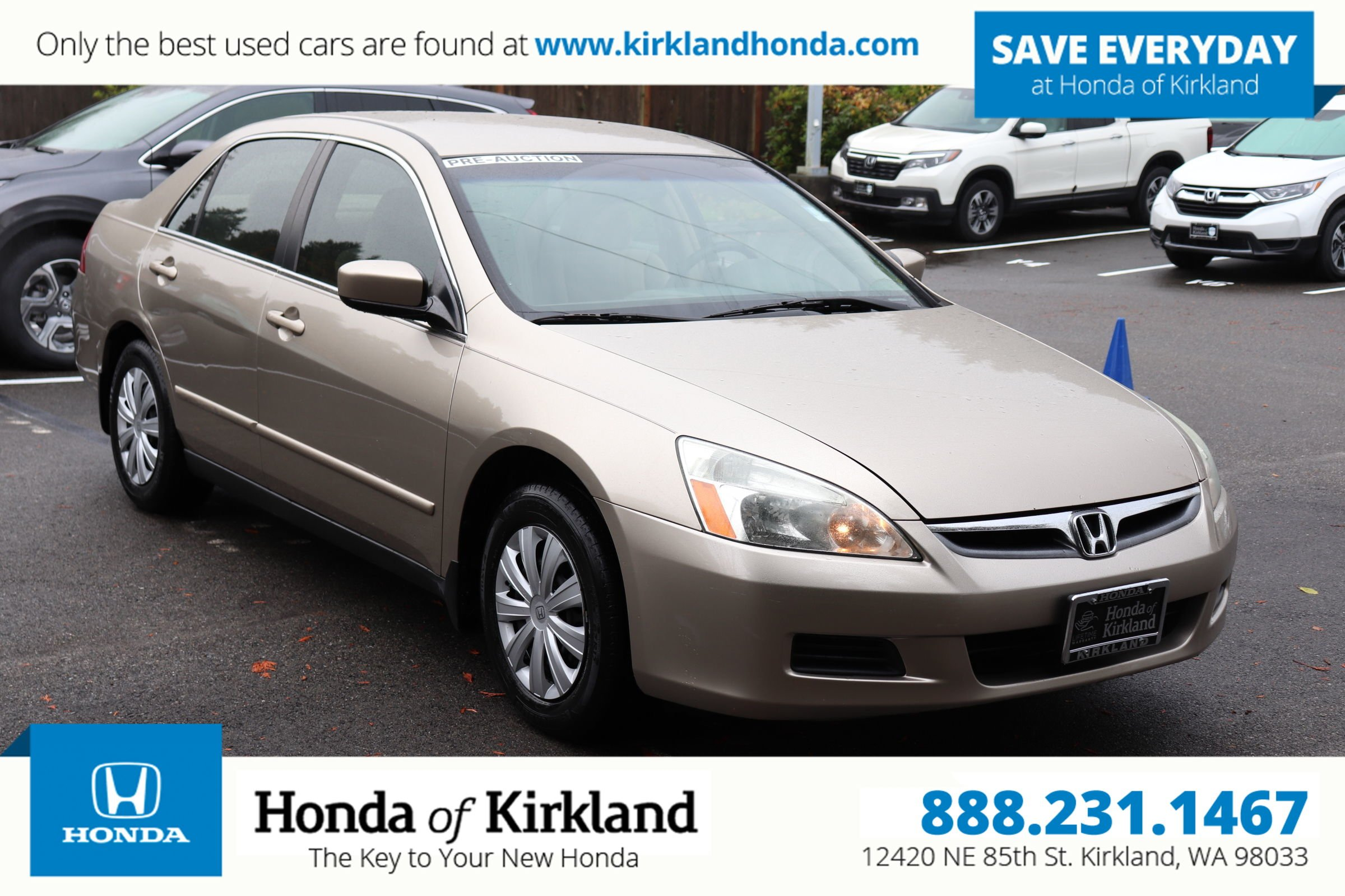 2007 Honda Accord Lx >> Pre Owned 2007 Honda Accord Sedan Lx
