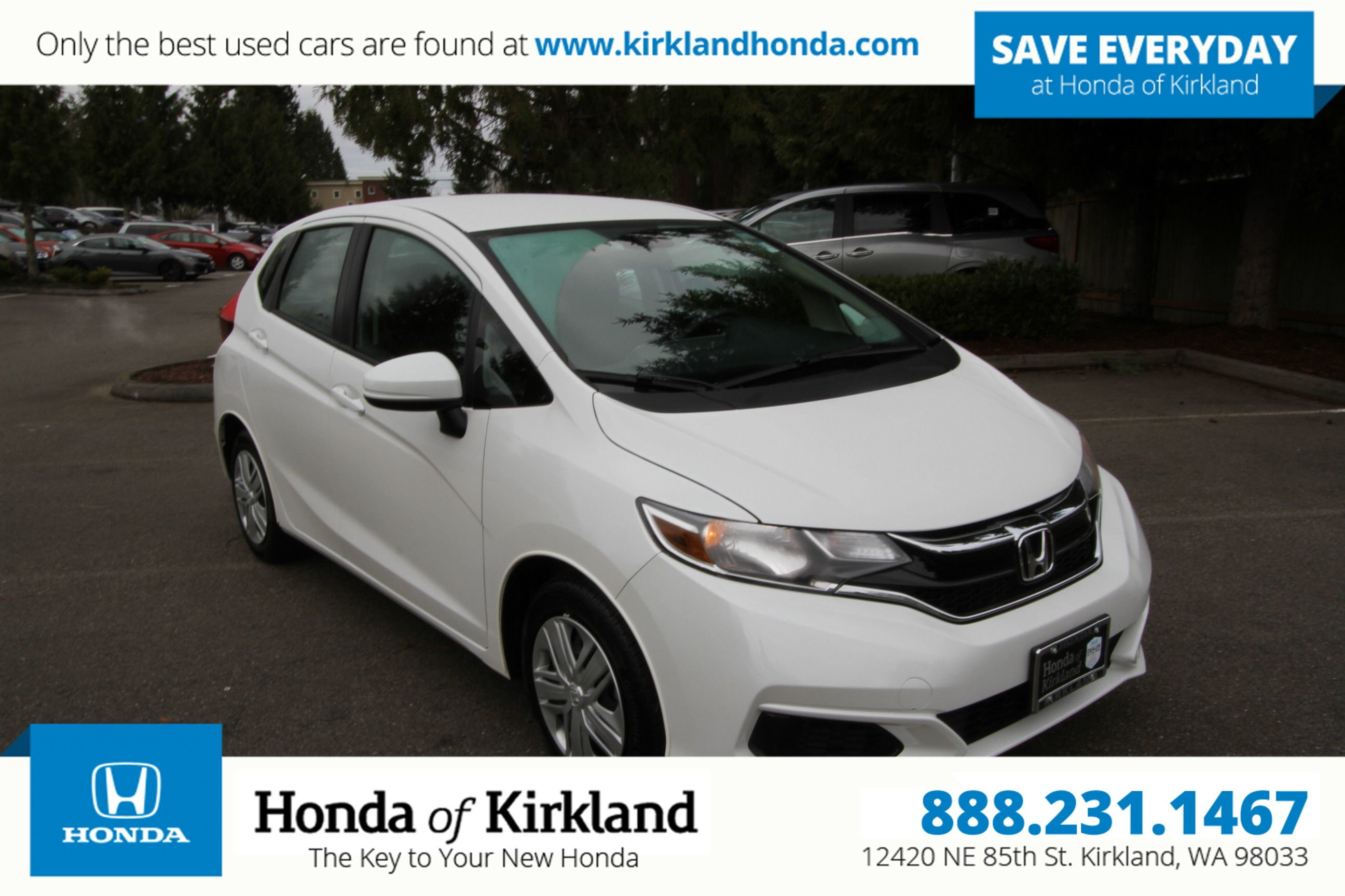 Certified Pre-Owned 2019 Honda Fit LX