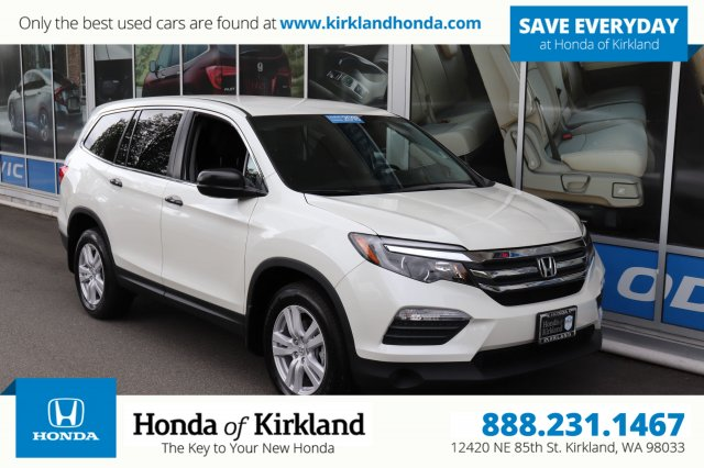 Certified Pre-Owned 2018 Honda Pilot LX AWD