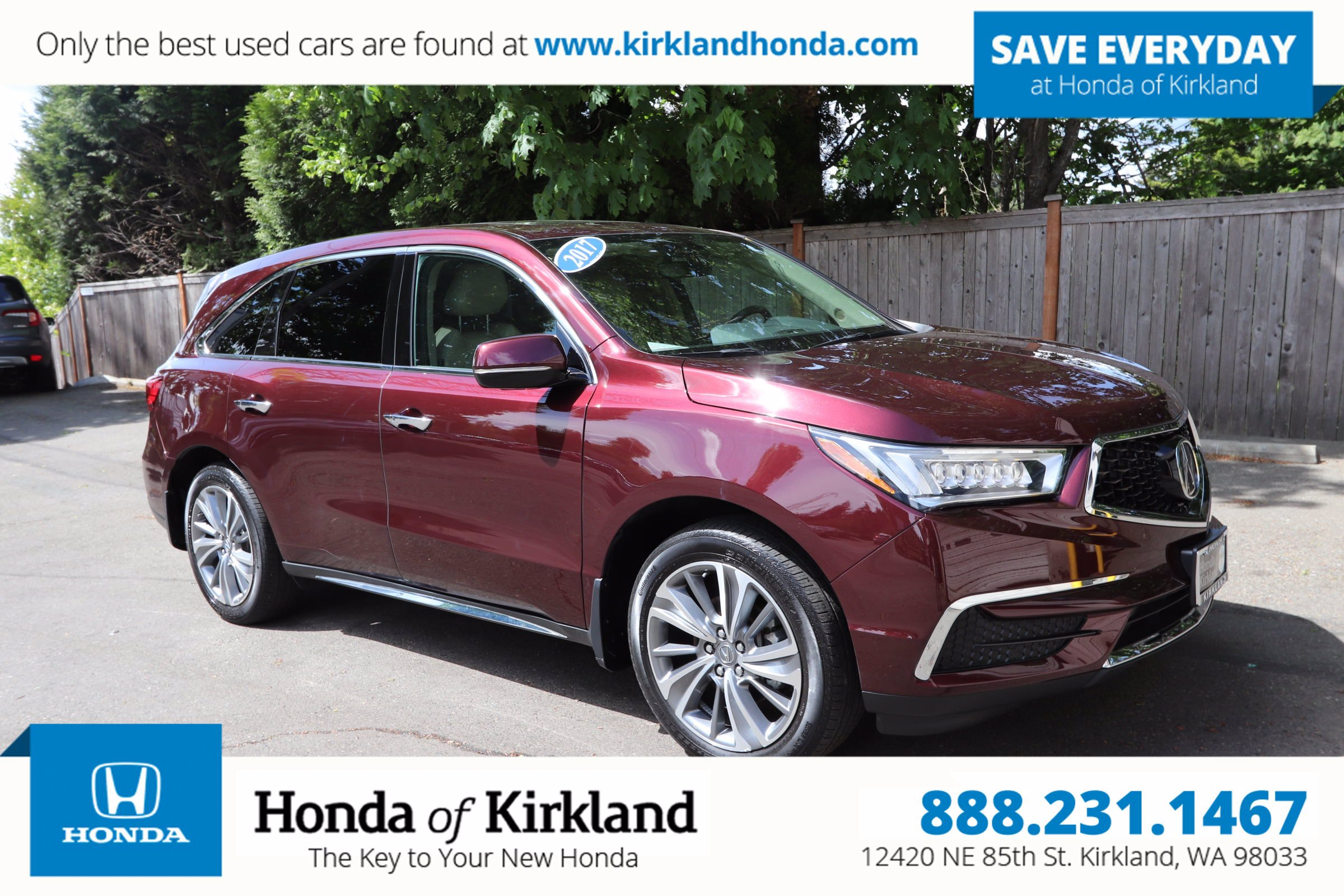 Pre-Owned 2017 Acura MDX with Technology Pkg