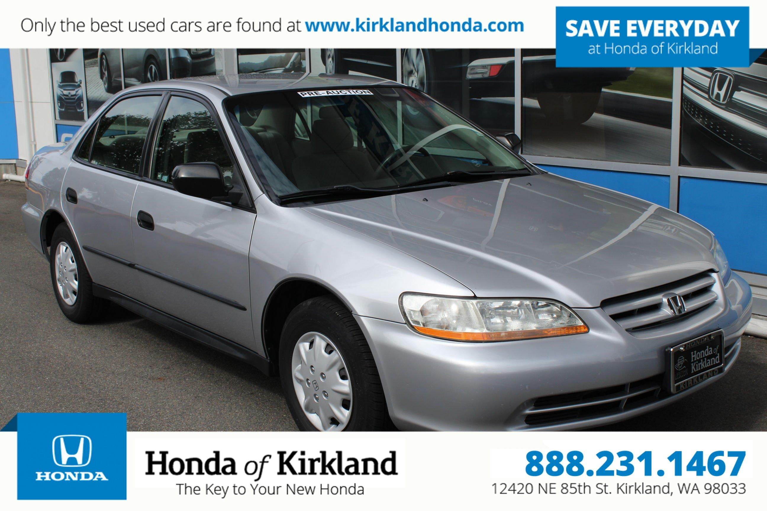 Pre Owned 2002 Honda Accord Sedan DX