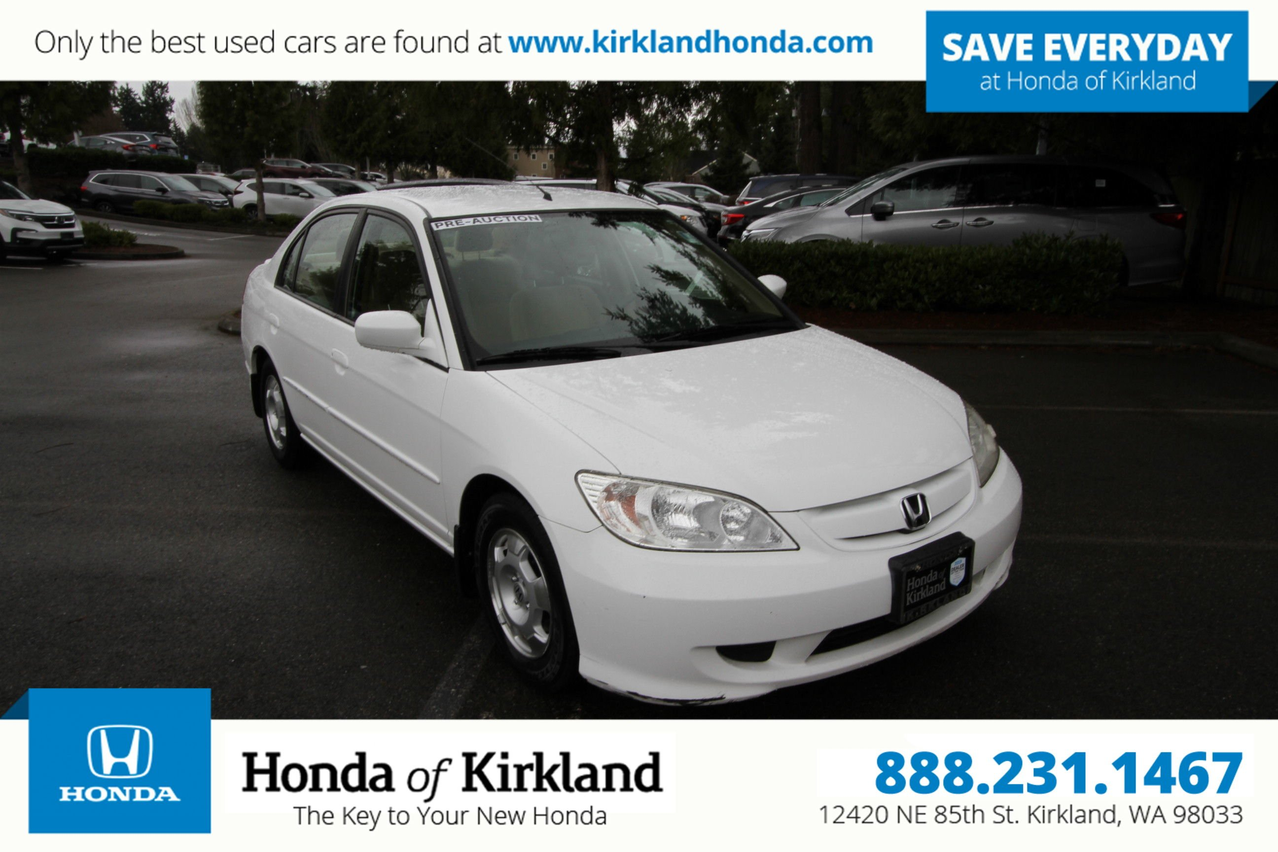 Pre-Owned 2004 Honda Civic Hybrid
