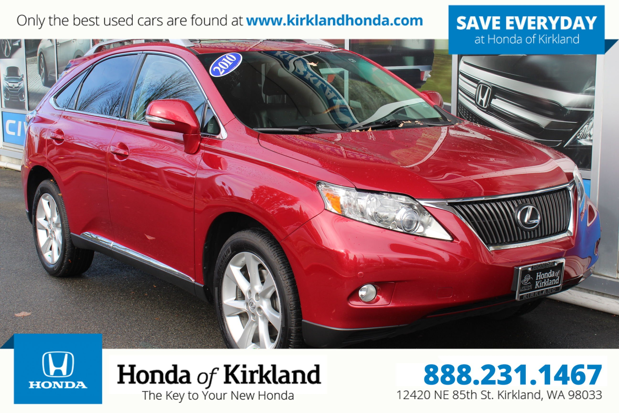 Pre Owned 2010 Lexus RX 350 AWD Sport Utility in Kirkland A