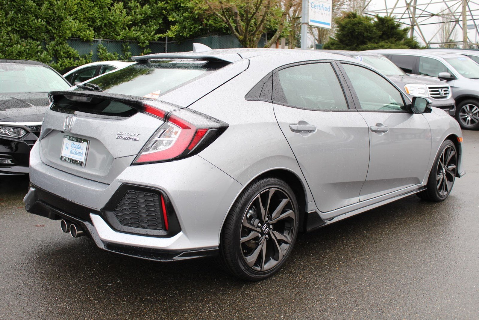 New 2018 Honda Civic Hatchback Sport Touring Hatchback in Kirkland