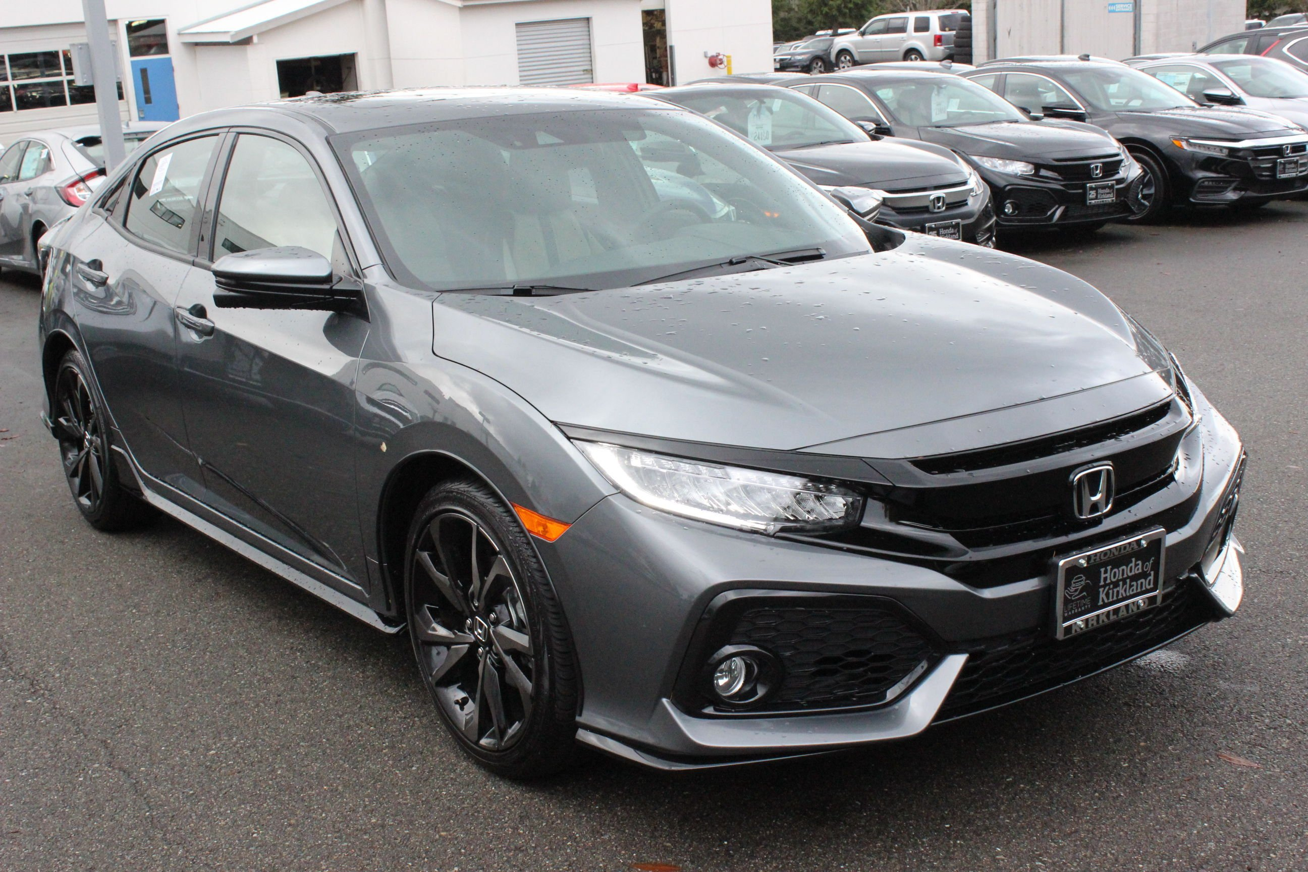 New 2019 Honda Civic Hatchback Sport Touring Hatchback In Kirkland