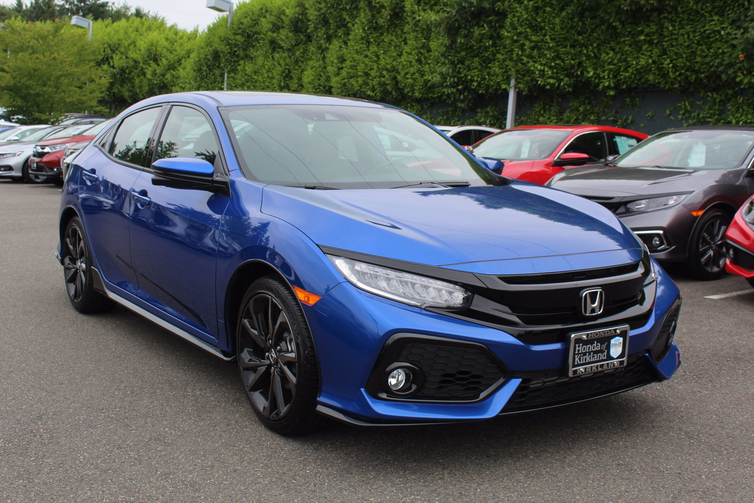 Honda Civic New >> New 2019 Honda Civic Hatchback Sport Touring Fwd Hatchback