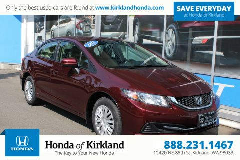 Exceptional Pre Owned 2015 Honda Civic Sedan LX