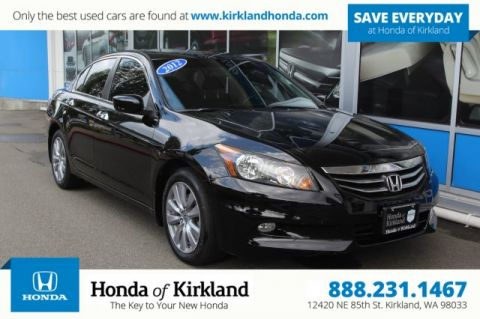 Pre-Owned 2012 Honda Accord Sedan EX V6