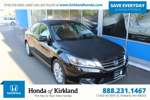 Pre-Owned 2015 Honda Accord Sedan EX-L w/Navi