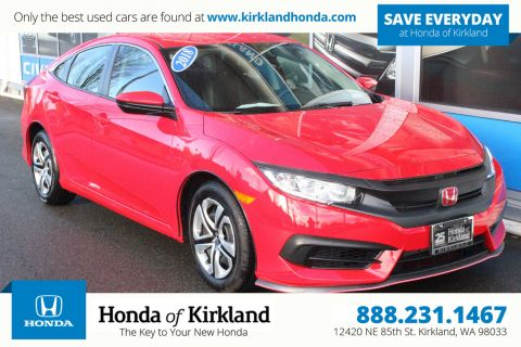 Pre-Owned 2018 Honda Civic Sedan LX