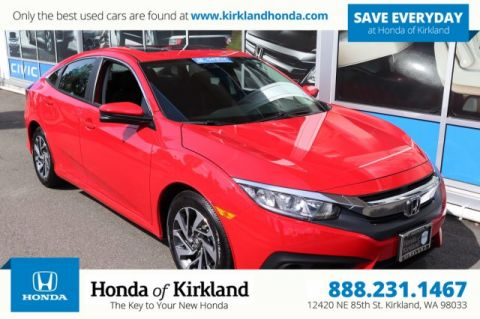 Certified Pre-Owned 2016 Honda Civic Sedan EX w/Honda Sensing