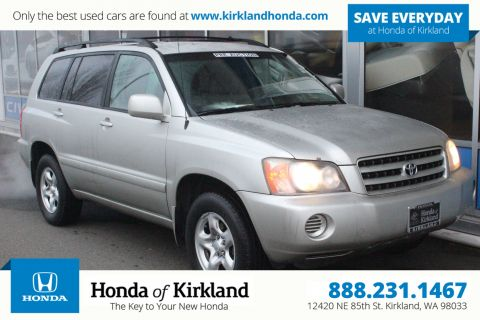 Pre-Owned 2001 Toyota Highlander 4WD